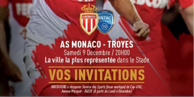 Vos invitations au service des sports !